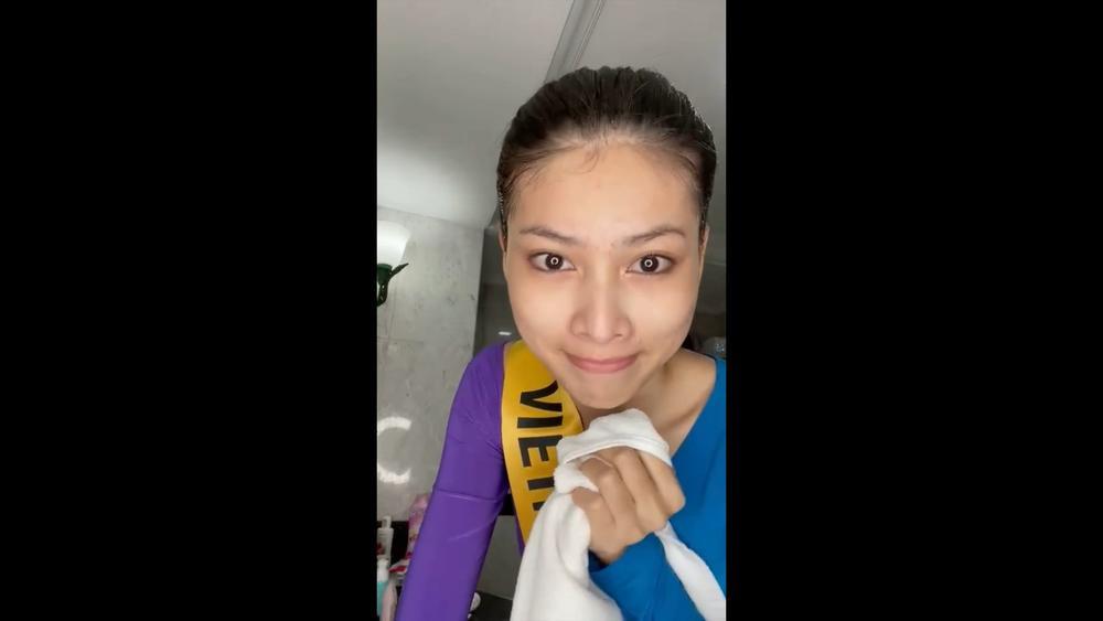 Phần thi mặt mộc Miss Grand: Ngọc Thảo rạng rỡ dù không son phấn, đối thủ Indonesia make-up quá đà Ảnh 3