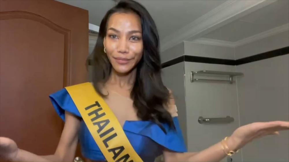 Phần thi mặt mộc Miss Grand: Ngọc Thảo rạng rỡ dù không son phấn, đối thủ Indonesia make-up quá đà Ảnh 6