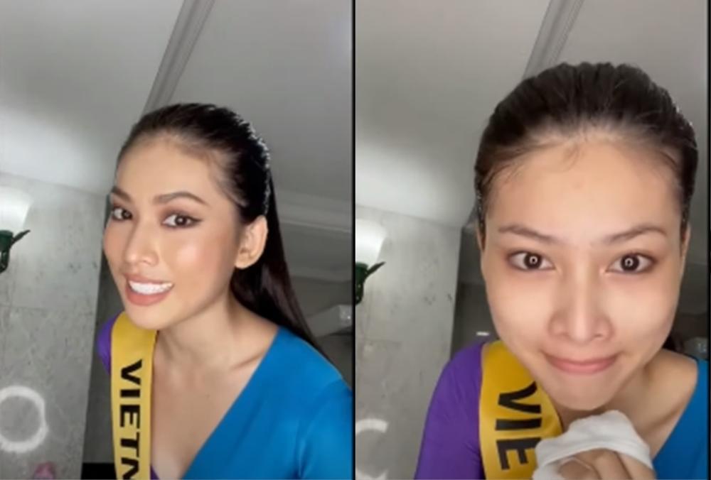Phần thi mặt mộc Miss Grand: Ngọc Thảo rạng rỡ dù không son phấn, đối thủ Indonesia make-up quá đà Ảnh 5