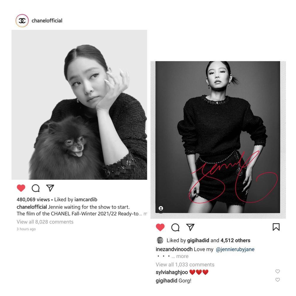 Dù phá dáng hàng hiệu, Tống Thiến vẫn dự show Chanel cùng cặp đôi vàng G-Dragon & Jennie Ảnh 8