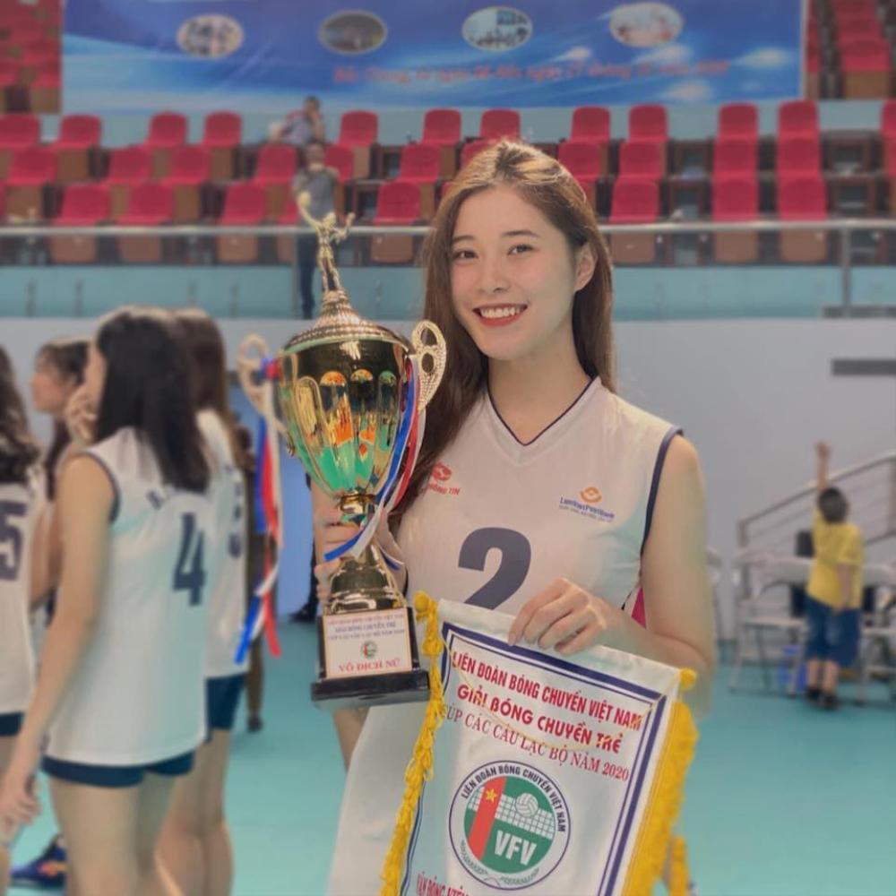 Hoa khôi bóng chuyền Đặng Thu Huyền lên tiếng về quyết định giải nghệ ở tuổi 19 Ảnh 2