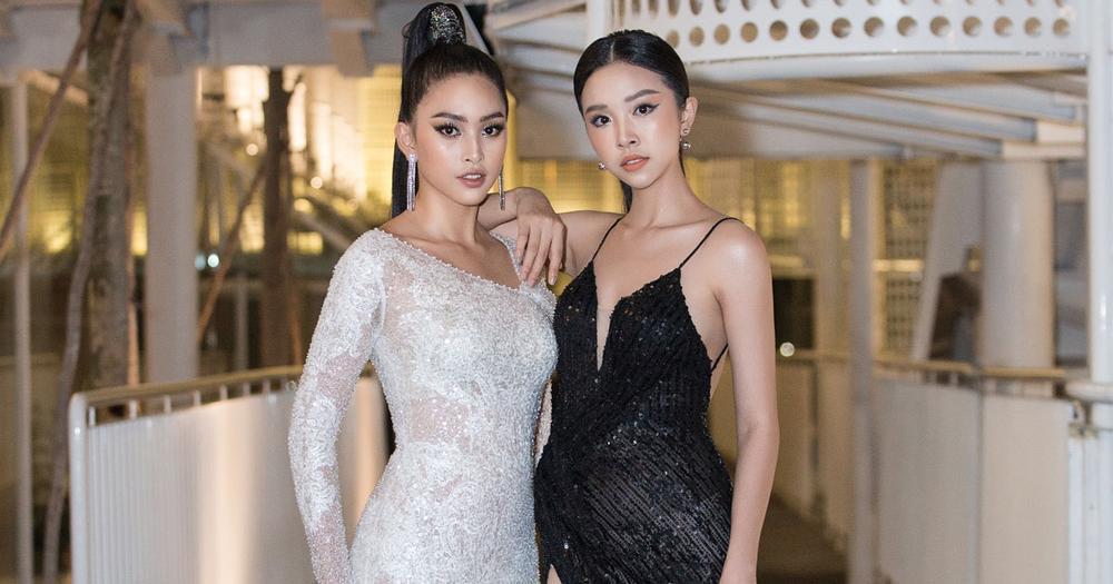 Hoa hậu Tiểu Vy và á hậu Thuý An lộ ảnh bị bầm khắp người khiến người hâm mộ xót xa Ảnh 3