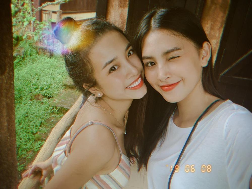 Hoa hậu Tiểu Vy và á hậu Thuý An lộ ảnh bị bầm khắp người khiến người hâm mộ xót xa Ảnh 4