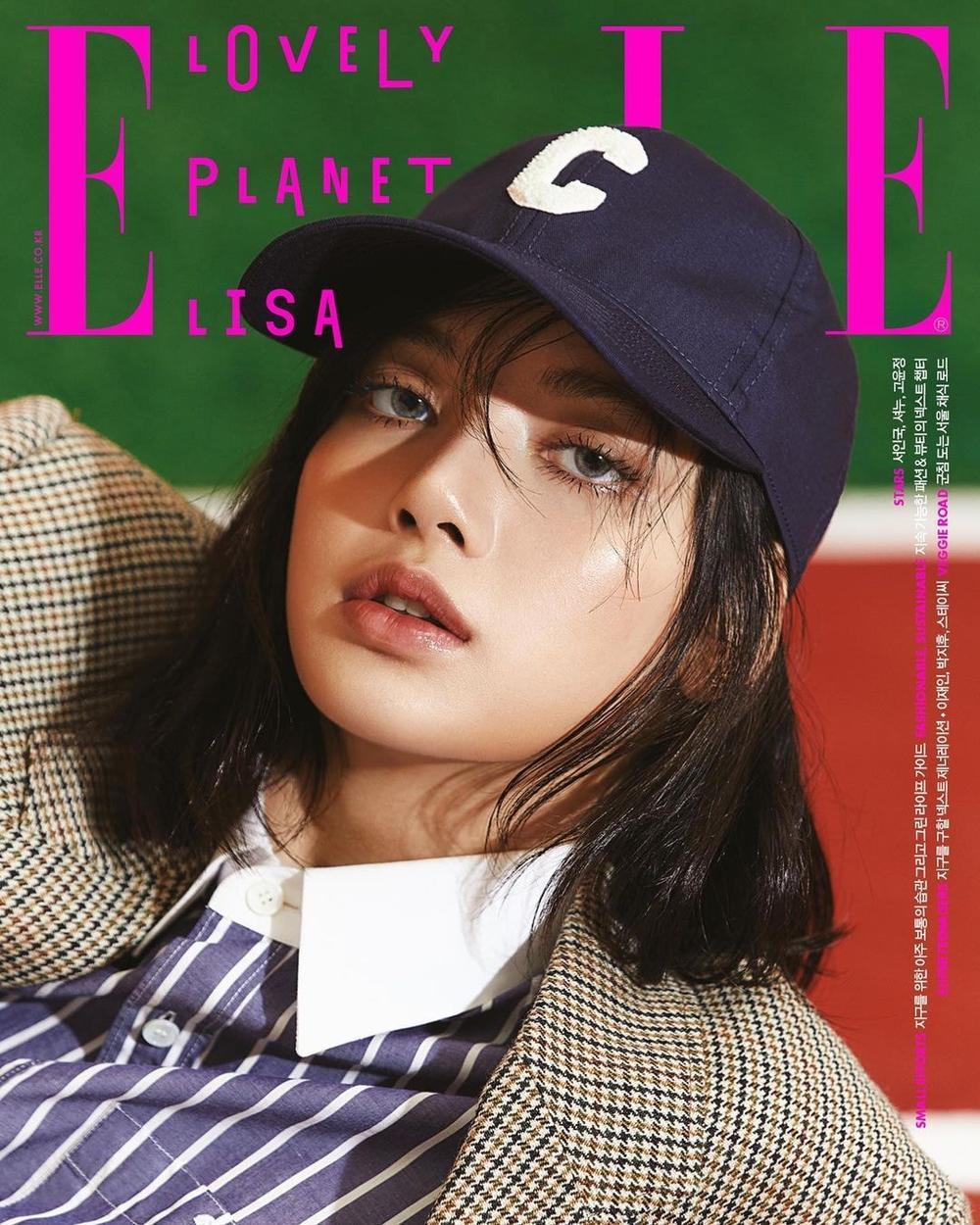 Lisa Black Pink khoe body 'vạn người mê' xứng danh nàng thơ Celine trên tạp chí Elle Ảnh 3