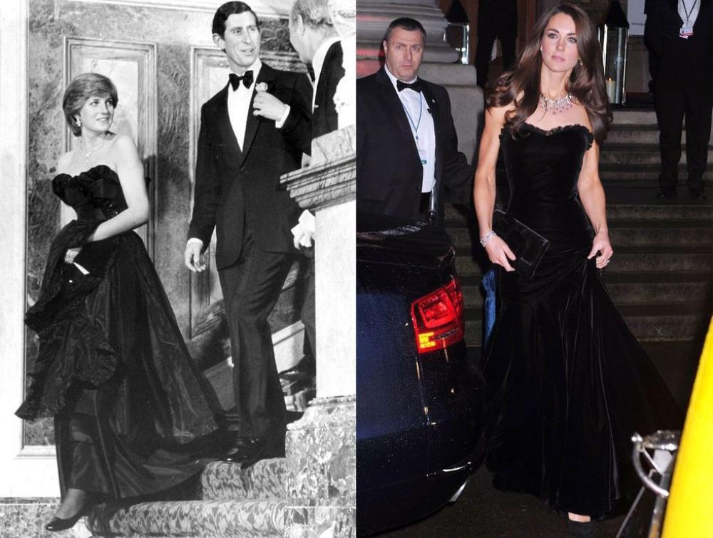 Sợi chỉ đỏ xuyên suốt gu thời trang của Công nương Diana và hai con dâu Kate & Meghan Ảnh 10