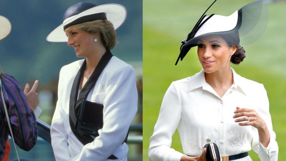 Sợi chỉ đỏ xuyên suốt gu thời trang của Công nương Diana và hai con dâu Kate & Meghan Ảnh 15