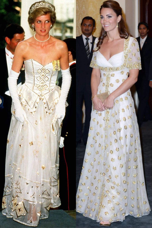 Sợi chỉ đỏ xuyên suốt gu thời trang của Công nương Diana và hai con dâu Kate & Meghan Ảnh 9