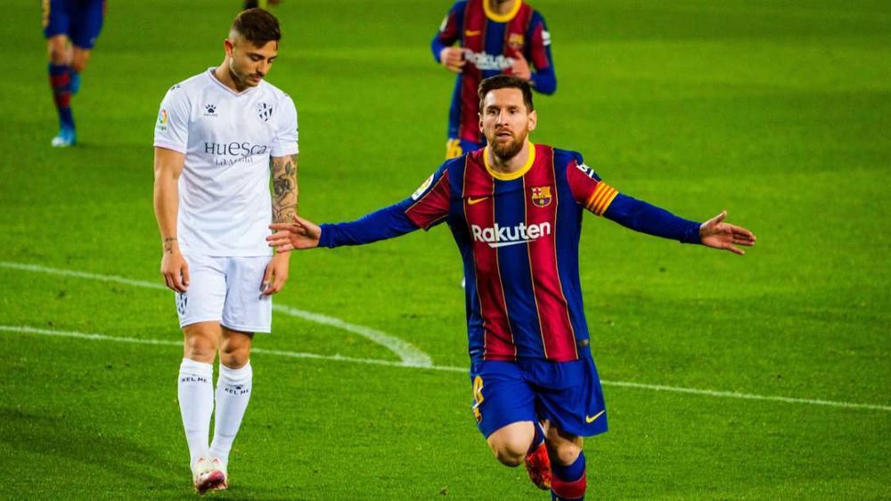 Messi cân bằng kỷ lục của Xavi trong ngày lập cú đúp bàn thắng Ảnh 1