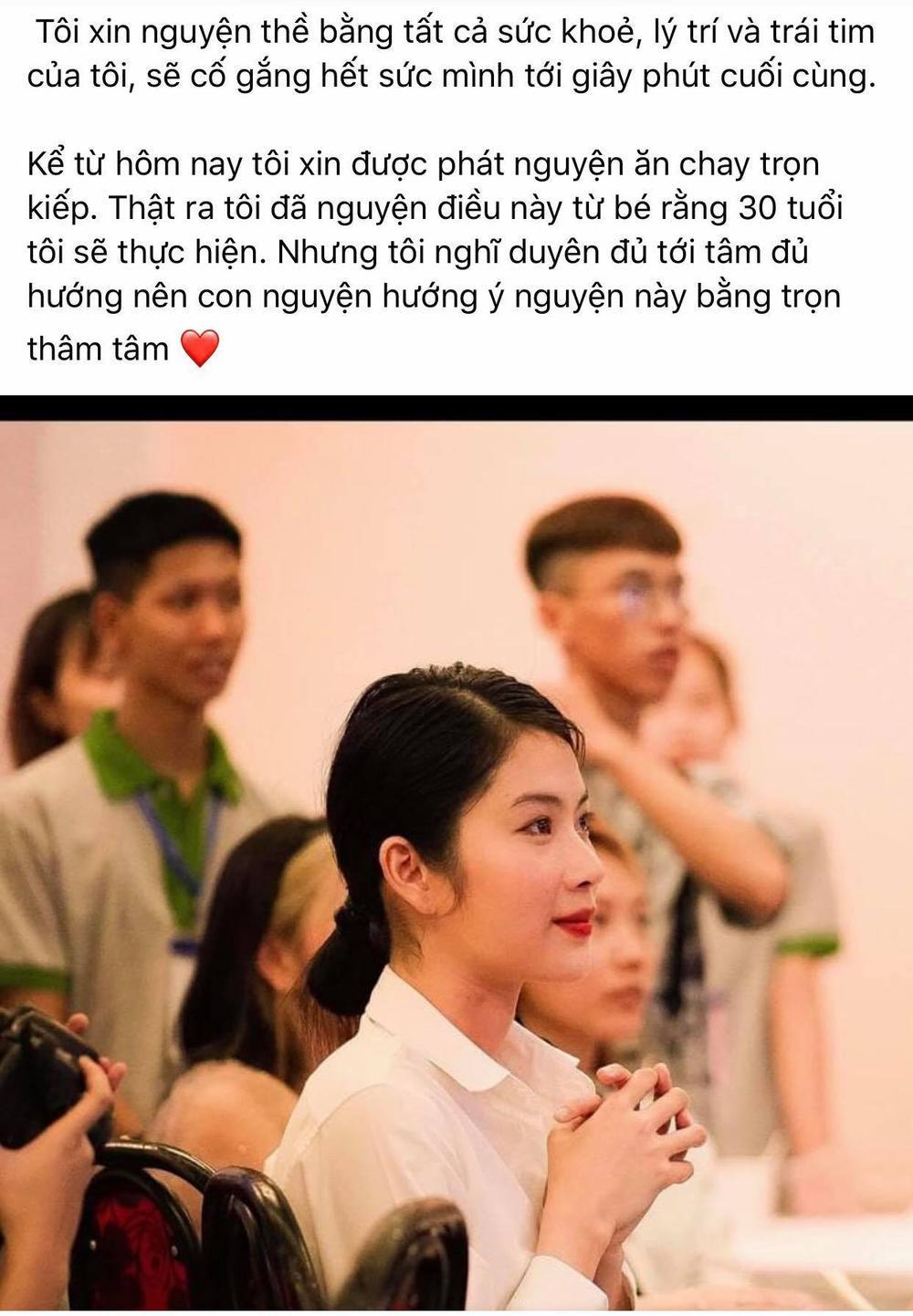 Lệ Nam nguyện ăn chay trọn kiếp hậu ghi danh đấu trường nhan sắc Miss Universe Việt nam 2021 Ảnh 3