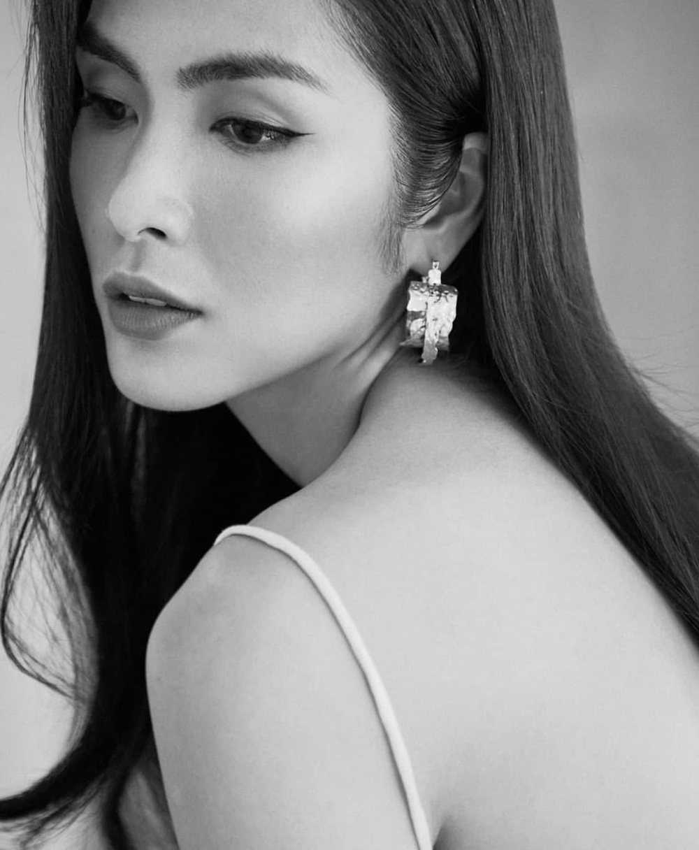 Tăng Thanh Hà khiến fan gục ngã với vẻ đẹp nữ thần trong set đồ trắng kiêu sa Ảnh 2