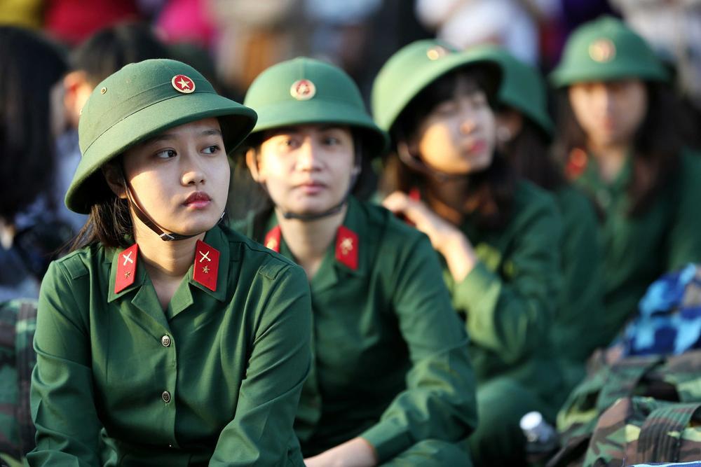 Chỉ 3 trường quân đội tuyển thí sinh nữ trong năm 2021 Ảnh 1