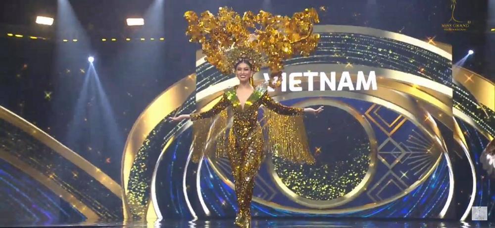 Ngọc Thảo tự tin trình diễn 'Lá ngọc cành vàng' phát sáng, hứa hẹn giật giải Best National Costume Ảnh 6
