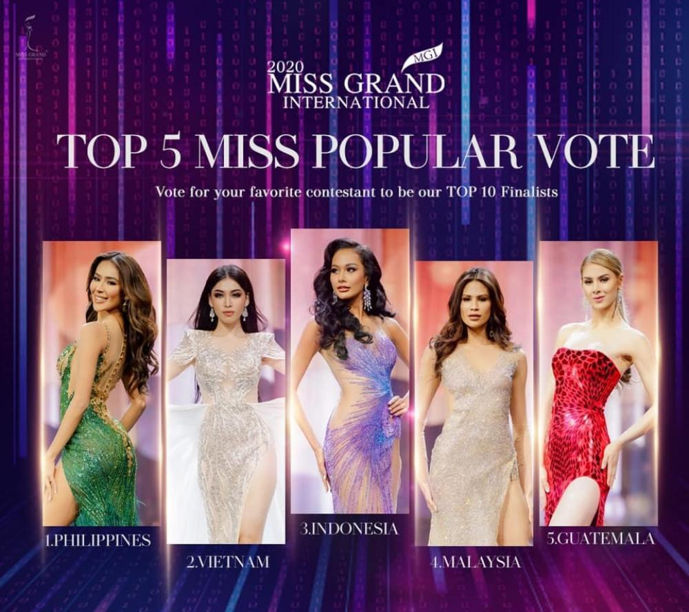 Ngọc Thảo xếp hạng 2 tổng bình chọn tiến thẳng Top 10, BGK 'cứu' luôn vào Top 5 Best National Costume Ảnh 7