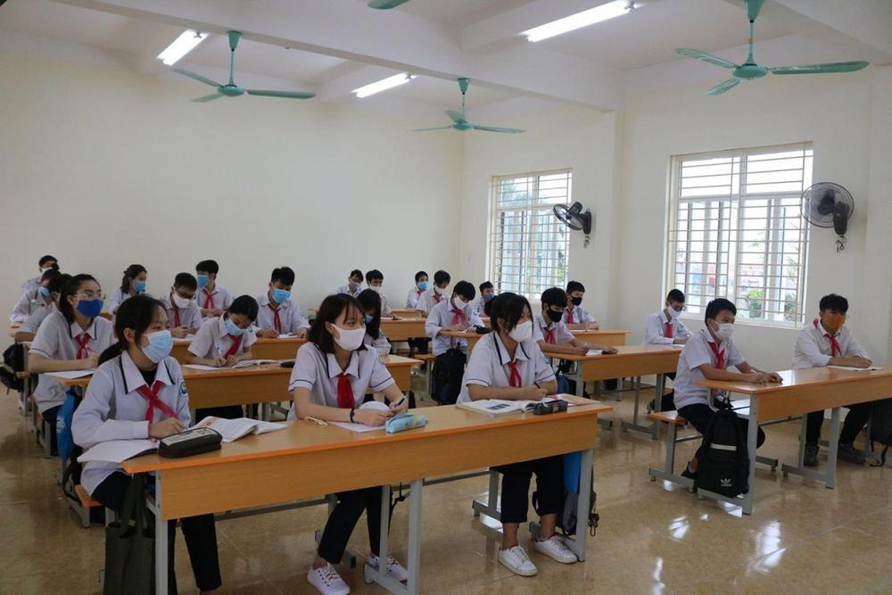 Hải Phòng cho học sinh 3 xã nghỉ học khẩn cấp để truy vết COVID-19 Ảnh 1