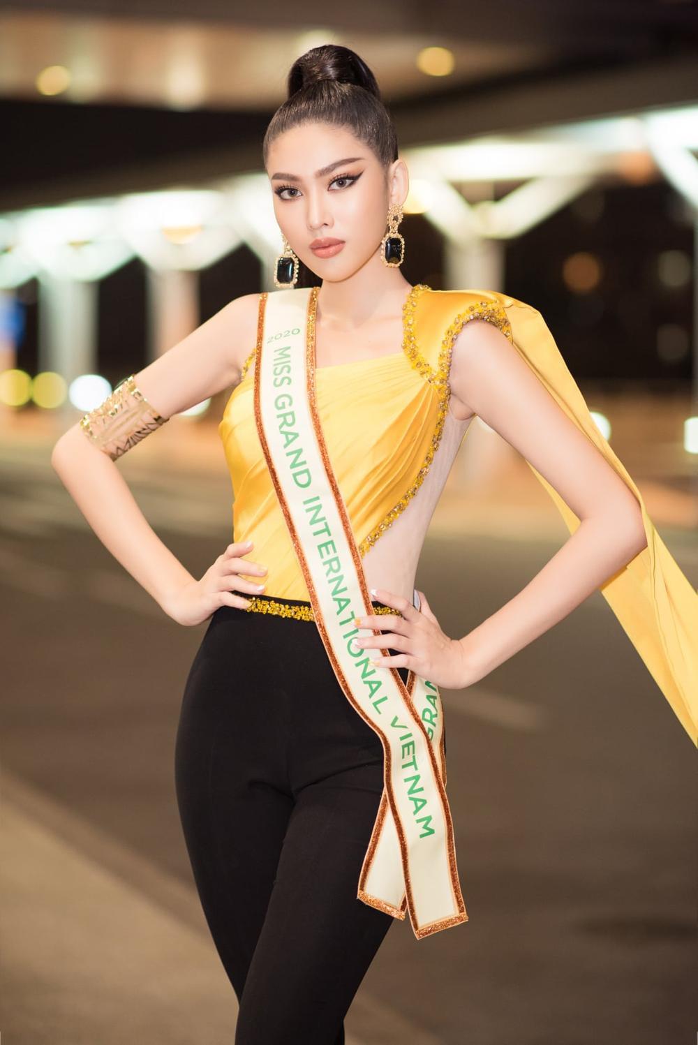 Hành trình lọt Top 20 của Ngọc Thảo: Nàng hậu 21 tuổi bản lĩnh chinh phục Miss Grand giữa mùa dịch! Ảnh 3