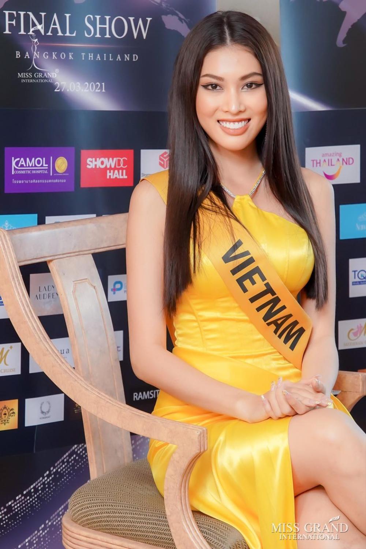 Hành trình lọt Top 20 của Ngọc Thảo: Nàng hậu 21 tuổi bản lĩnh chinh phục Miss Grand giữa mùa dịch! Ảnh 20