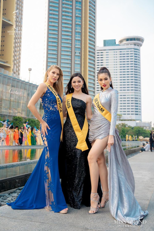 Hành trình lọt Top 20 của Ngọc Thảo: Nàng hậu 21 tuổi bản lĩnh chinh phục Miss Grand giữa mùa dịch! Ảnh 16