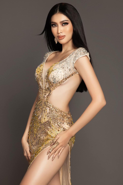7 bộ váy dạ hội đẹp tinh xảo mà Ngọc Thảo không có cơ hội trình diễn tại Miss Grand International Ảnh 3