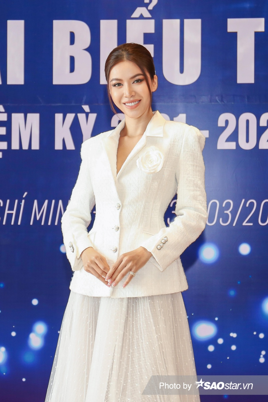 Minh Tú vinh dự trở thành thành viên Ban Chấp hành Hội Người mẫu Việt Nam nhiệm kỳ 2021 - 2026 Ảnh 6
