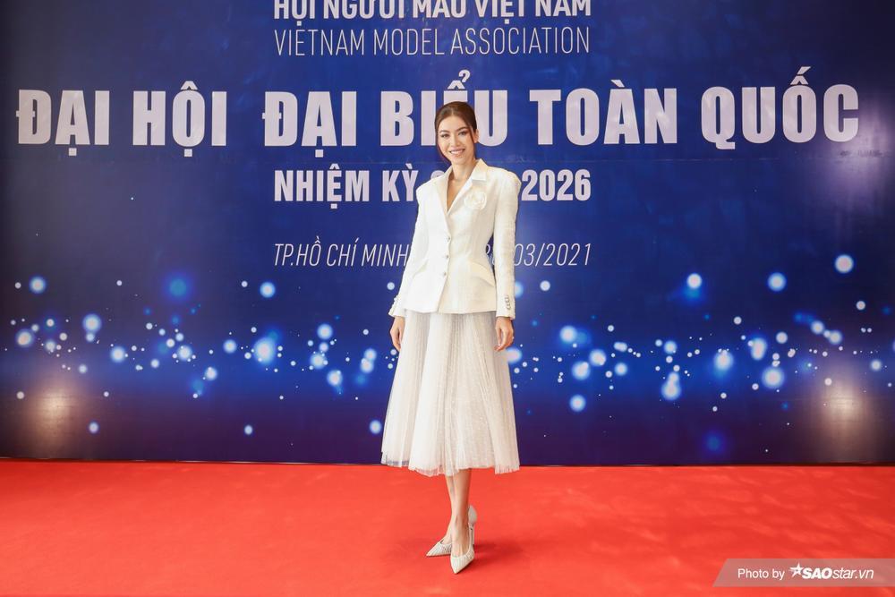 Minh Tú vinh dự trở thành thành viên Ban Chấp hành Hội Người mẫu Việt Nam nhiệm kỳ 2021 - 2026 Ảnh 4
