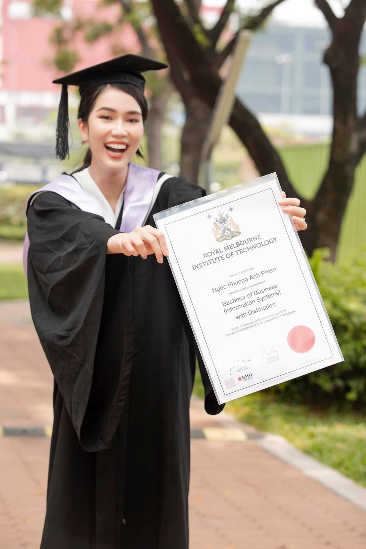 Miss International khen ngợi thành tích học tập của Phương Anh: Vương miện Big 3 đang đến rất gần? Ảnh 3