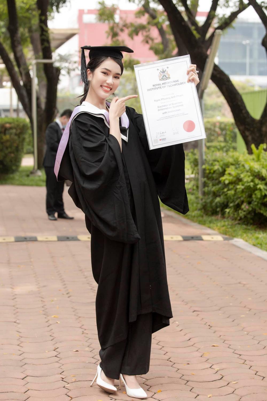 Miss International khen ngợi thành tích học tập của Phương Anh: Vương miện Big 3 đang đến rất gần? Ảnh 4