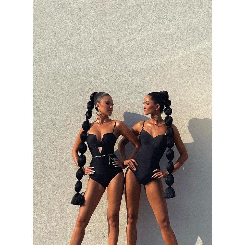 Kim Duyên diện váy cắt khoét cực hiểm, catwalk bốc lửa chuẩn Miss Universe Ảnh 5