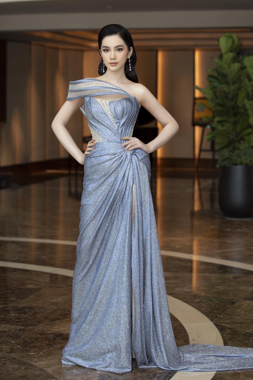 Tình trẻ chồng cũ Lệ Quyên diện váy đẹp lấn át cả Hoa hậu Đỗ Thị Hà Ảnh 1