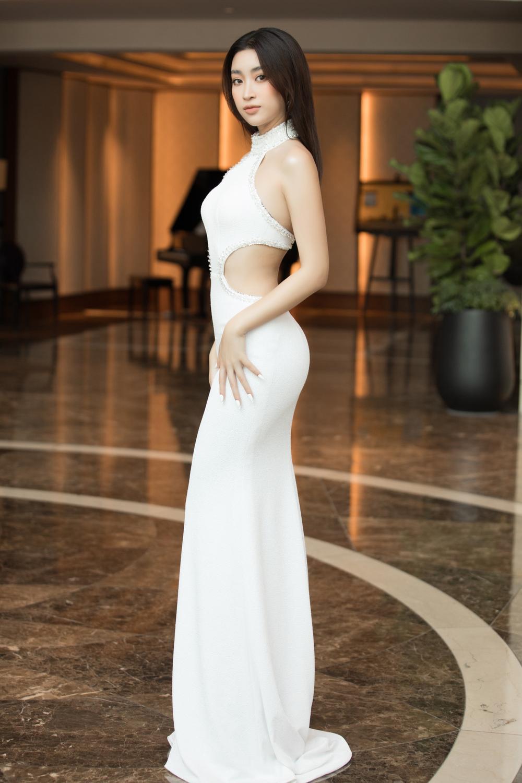 Tình trẻ chồng cũ Lệ Quyên diện váy đẹp lấn át cả Hoa hậu Đỗ Thị Hà Ảnh 6