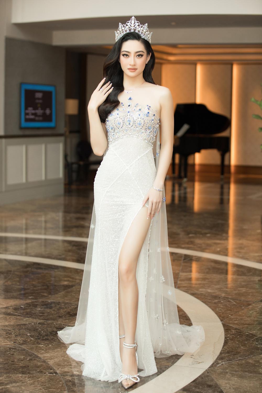 Tình trẻ chồng cũ Lệ Quyên diện váy đẹp lấn át cả Hoa hậu Đỗ Thị Hà Ảnh 9