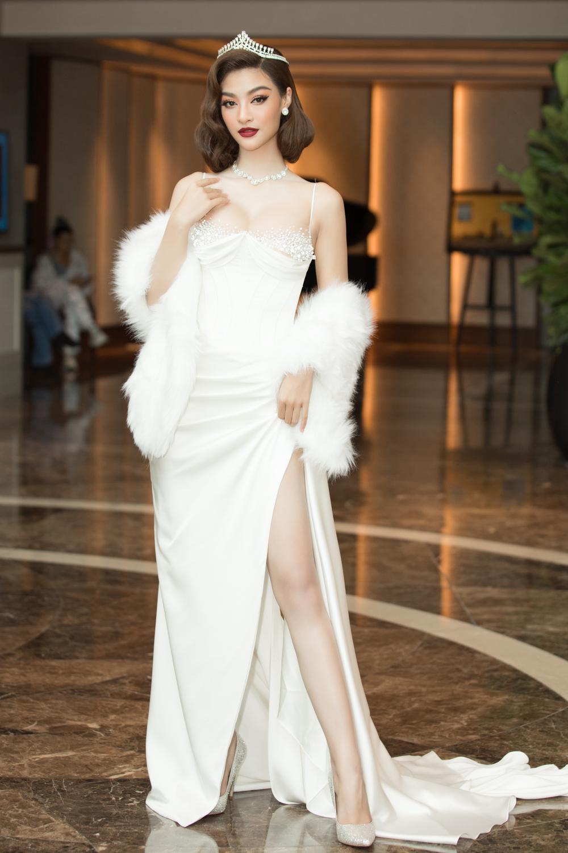 Tình trẻ chồng cũ Lệ Quyên diện váy đẹp lấn át cả Hoa hậu Đỗ Thị Hà Ảnh 5