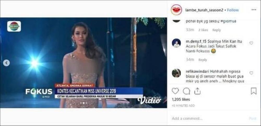Miss Grand Indonesia bị truyền hình quốc gia che mờ toàn thân vì váy mỏng như sương Ảnh 6