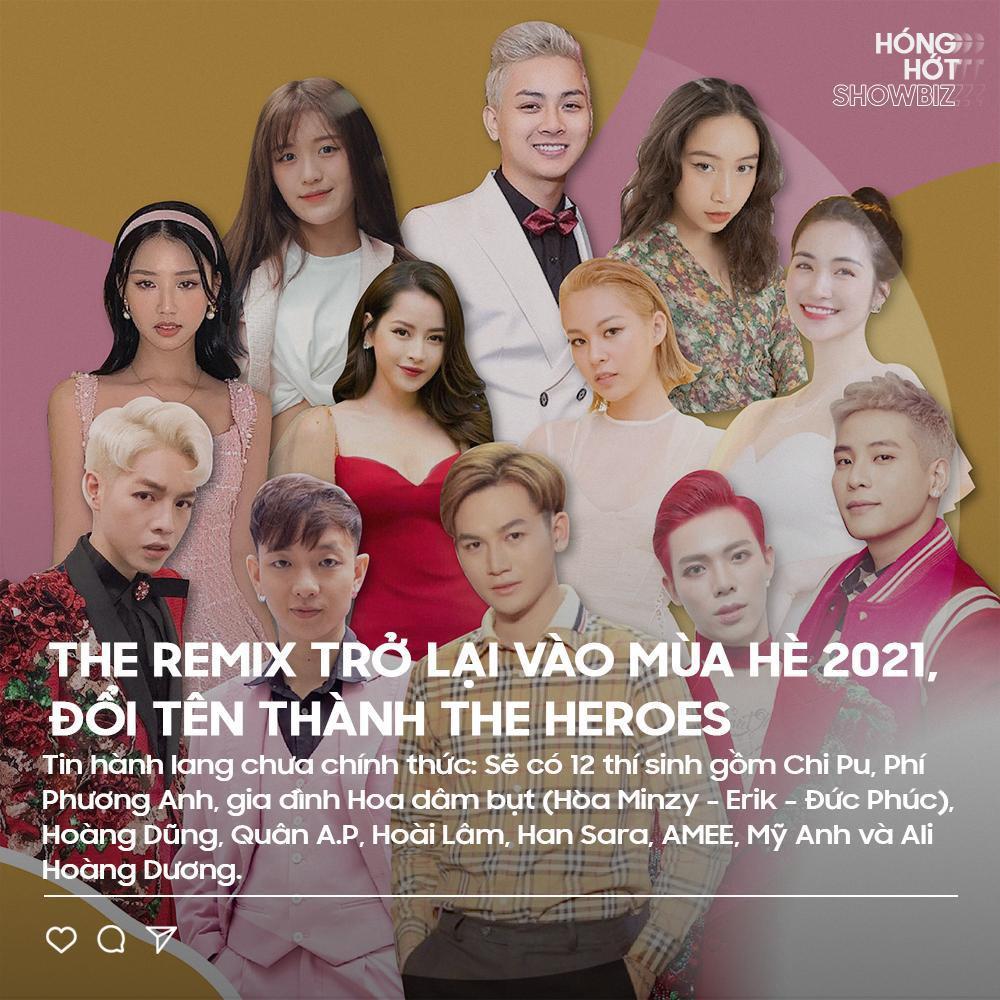 The Remix trở lại với tên gọi The Heroes, nhà sản xuất nói gì về dàn line-up tin đồn? Ảnh 1
