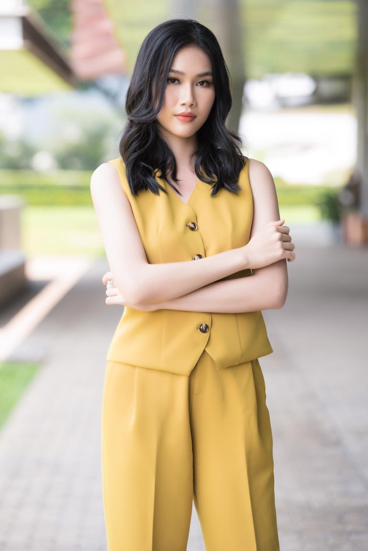 Phương Anh đẹp thanh lịch, giao tiếp chuẩn 'nuốt mic' sẵn sàng chinh chiến Miss International Ảnh 2