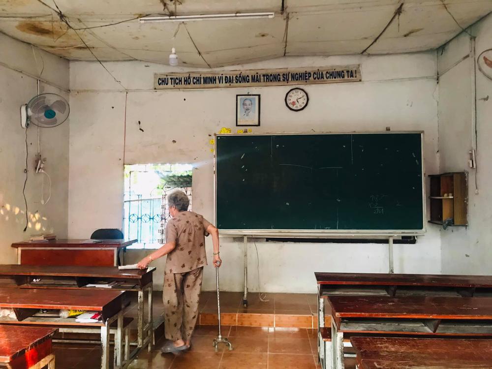 Lớp học chỉ 15.000 đồng suốt 27 năm của ông bà giáo ở 'Làng Đại học' Thủ Đức Ảnh 5