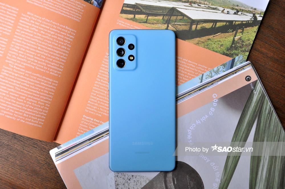 Đánh giá chi tiết Samsung Galaxy A72: Thiết kế mới mang đến trải nghiệm tinh tế! Ảnh 4