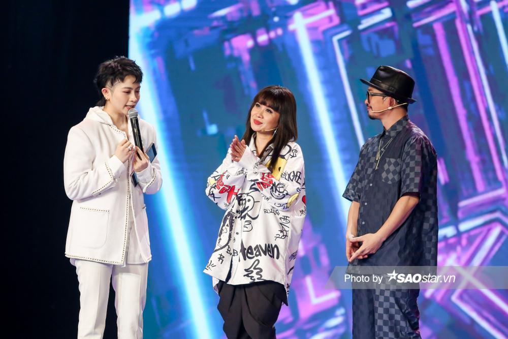 Gil Lê đảm nhận vai trò MC, Hà Lê cùng Lưu Thiên Hương loại thí sinh vòng Đột phá GHVN New Generation Ảnh 3