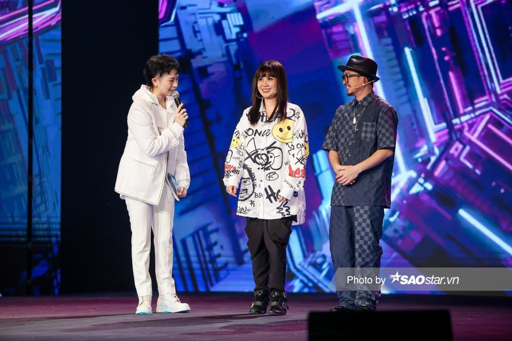 Gil Lê đảm nhận vai trò MC, Hà Lê cùng Lưu Thiên Hương loại thí sinh vòng Đột phá GHVN New Generation Ảnh 2