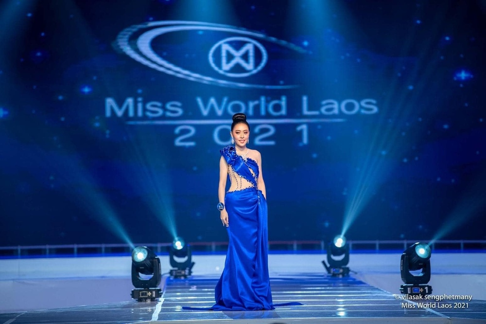 Tân hoa hậu Lào bỏ ngôi vị vì khai gian tuổi, á hậu 1 lên ngôi 'kèn cựa' Đỗ Thị Hà tại Miss World? Ảnh 3