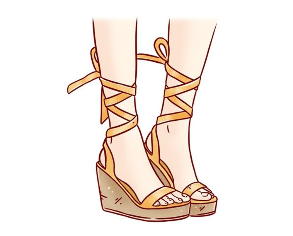 10 sai lầm chọn giày dép mùa hè khiến ngón chân biến dạng, sinh bệnh về khớp Ảnh 3