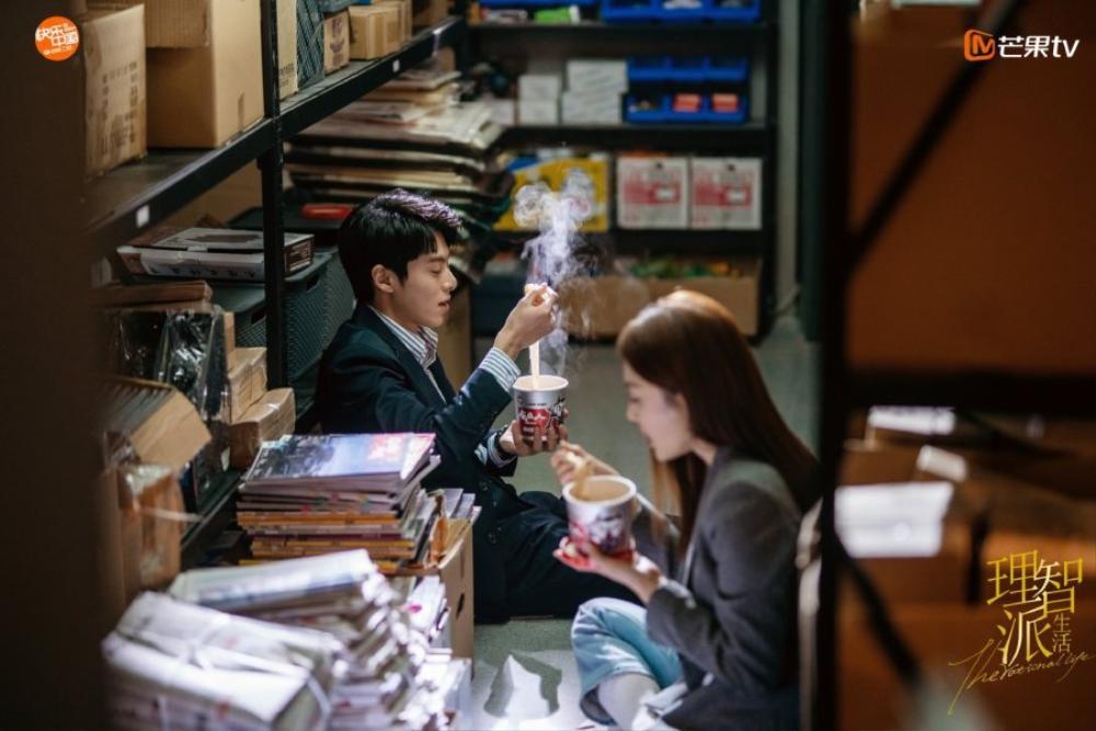 Cặp chị em chênh nhau 19 tuổi Tần Lam - Vương Hạc Đệ rủ nhau hẹn hò trong 'The Rational Life' Ảnh 2