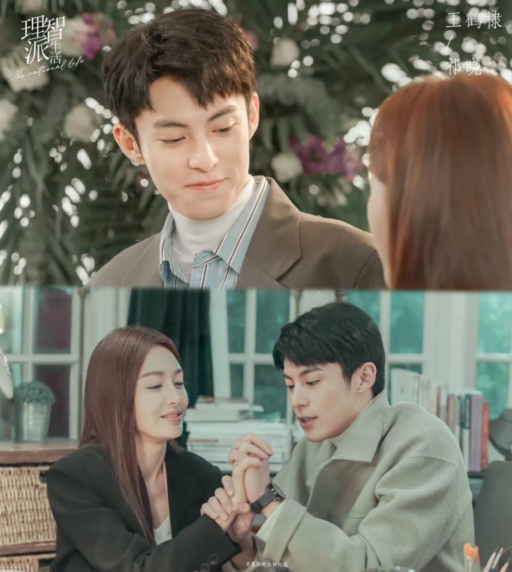 Cặp chị em chênh nhau 19 tuổi Tần Lam - Vương Hạc Đệ rủ nhau hẹn hò trong 'The Rational Life' Ảnh 11