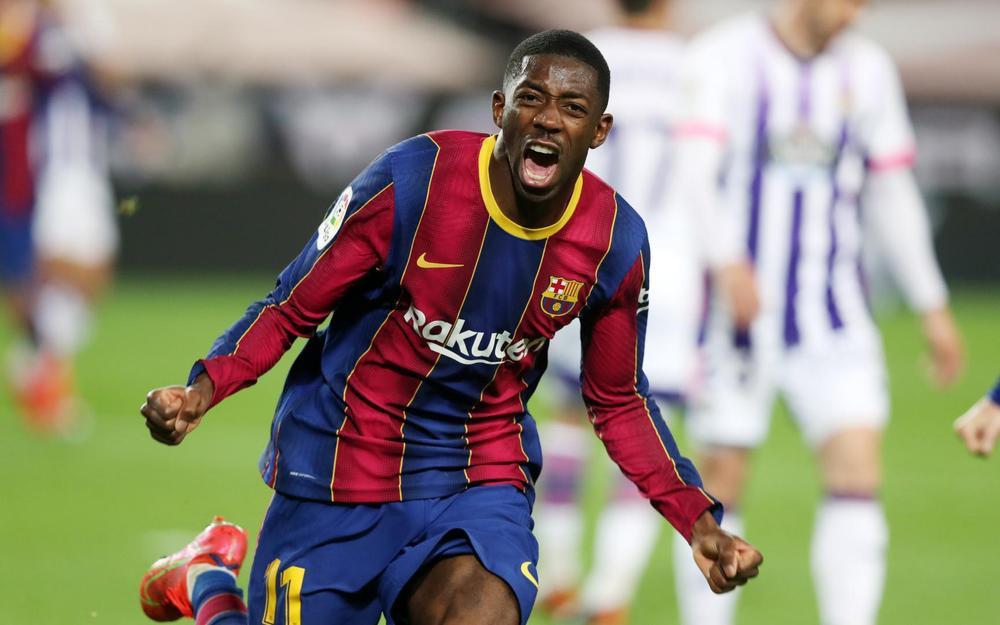 Barca phả hơi nóng vào gáy Atletico Madrid nhờ bàn thắng phút 90 Ảnh 1