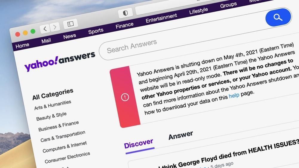 Yahoo Hỏi & Đáp, website gắn liền với tuổi thơ của thế hệ 8X, 9X Việt Nam sắp ngừng hoạt động Ảnh 2