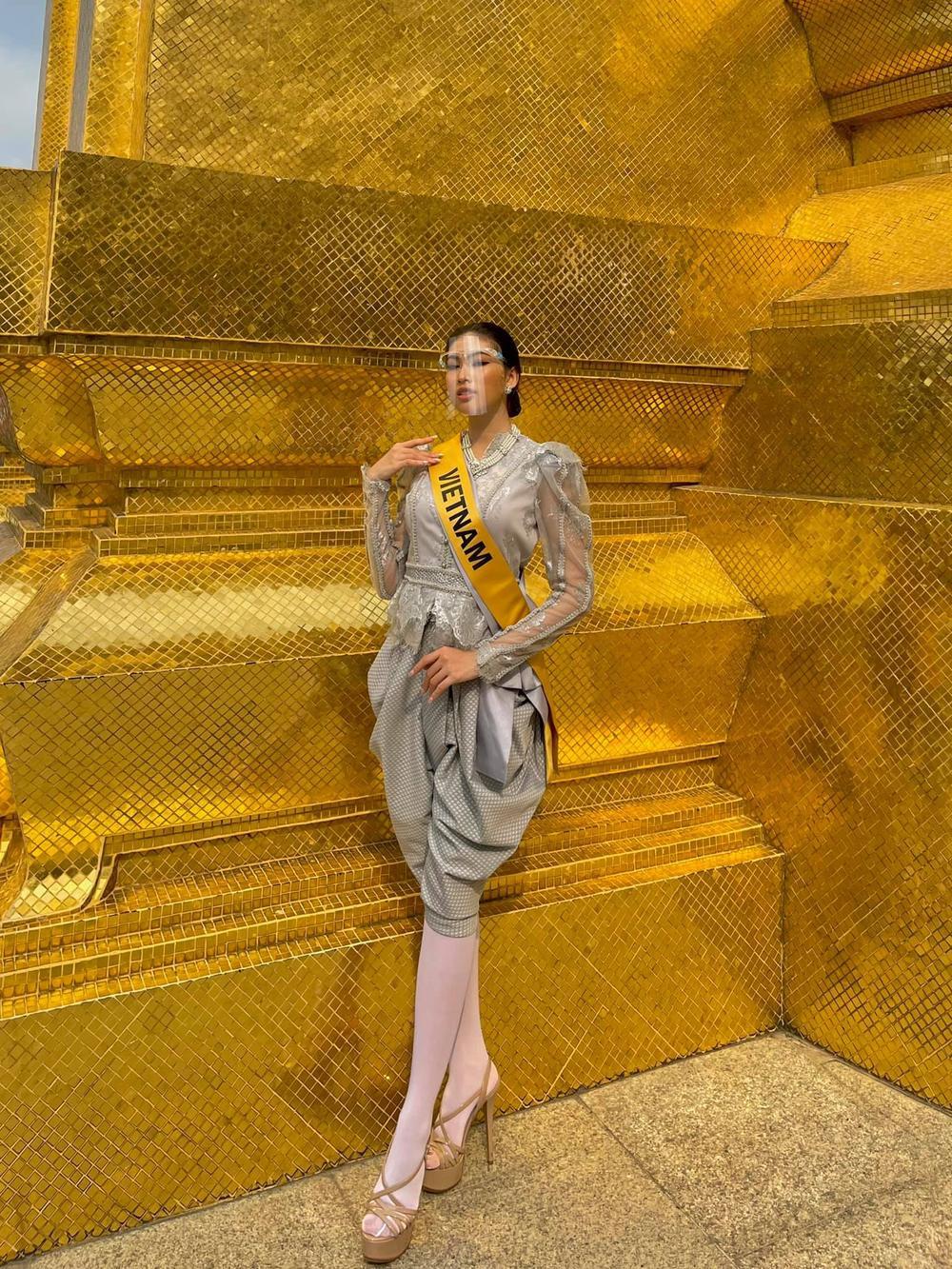 Ngọc Thảo về Việt Nam sau 1 tháng chinh chiến Miss Grand, bắt đầu cách ly 21 ngày tại Đà Nẵng Ảnh 6
