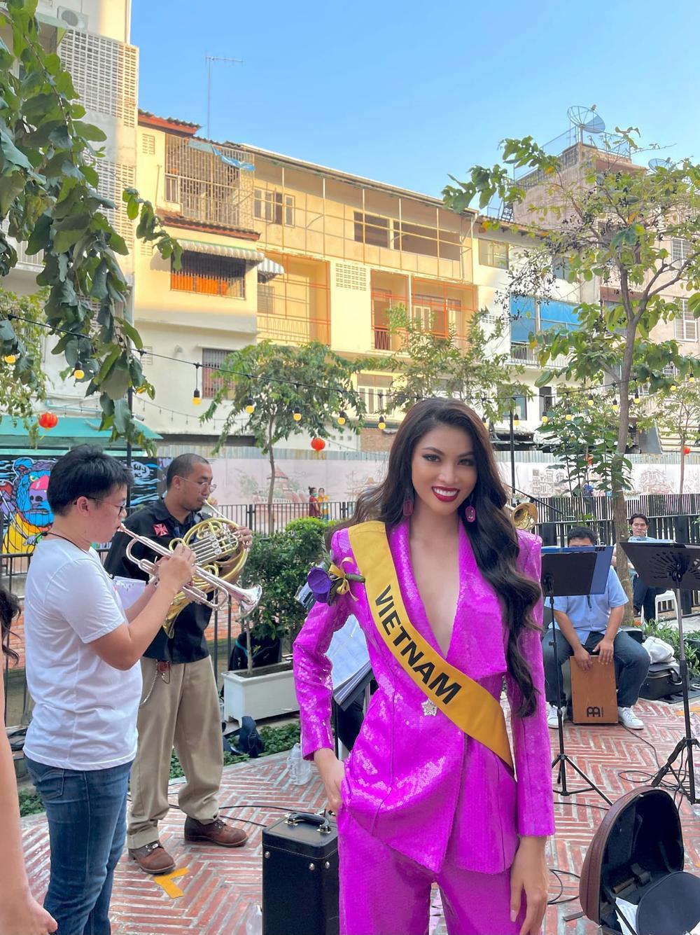 Ngọc Thảo về Việt Nam sau 1 tháng chinh chiến Miss Grand, bắt đầu cách ly 21 ngày tại Đà Nẵng Ảnh 7