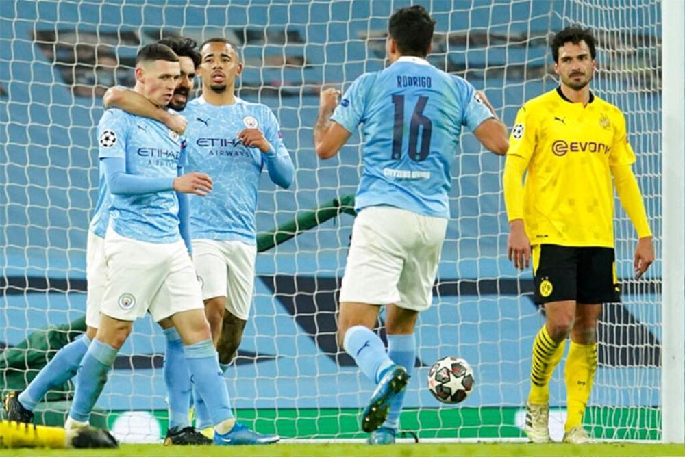 Man City 2-1 Dortmund: Trọng tài gây tranh cãi, VAR bất lực Ảnh 2
