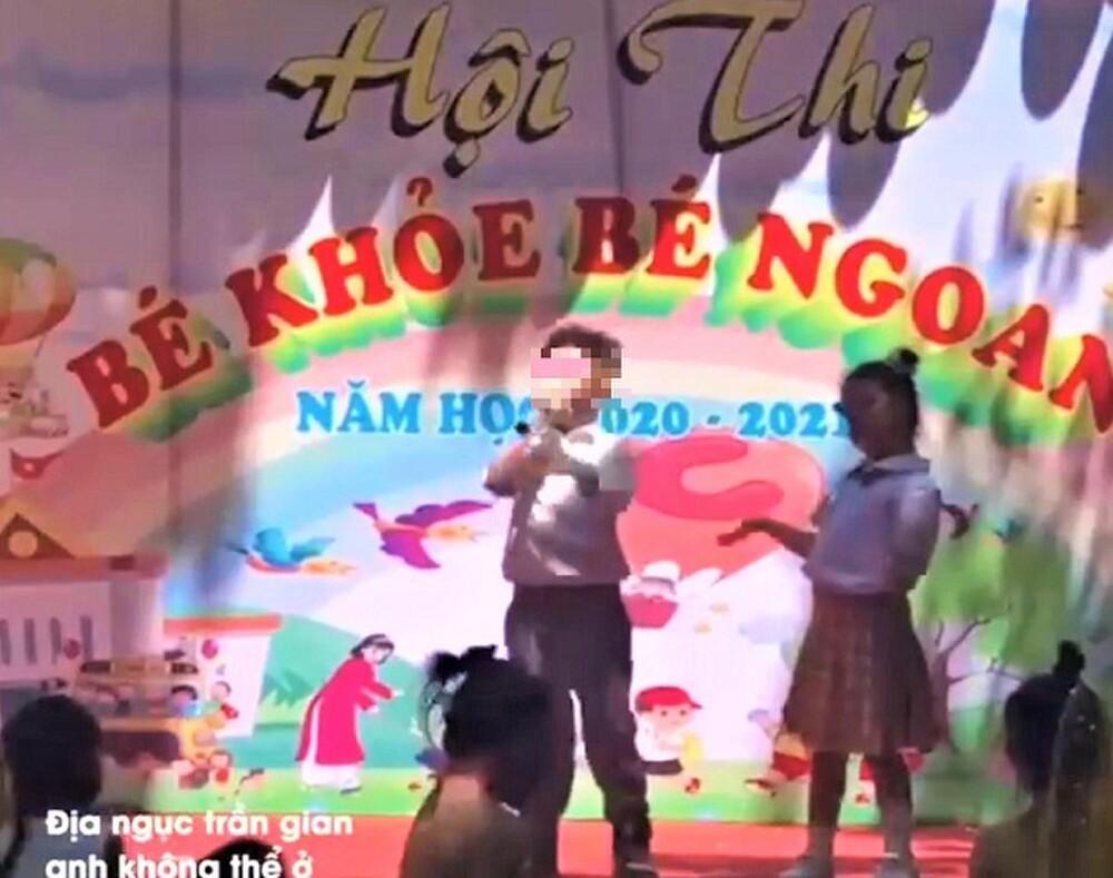 Vụ trẻ mầm non hát 'địa ngục trần gian' trên sân khấu của trường: Phòng GD&ĐT TP Buôn Ma Thuột nói gì? Ảnh 1