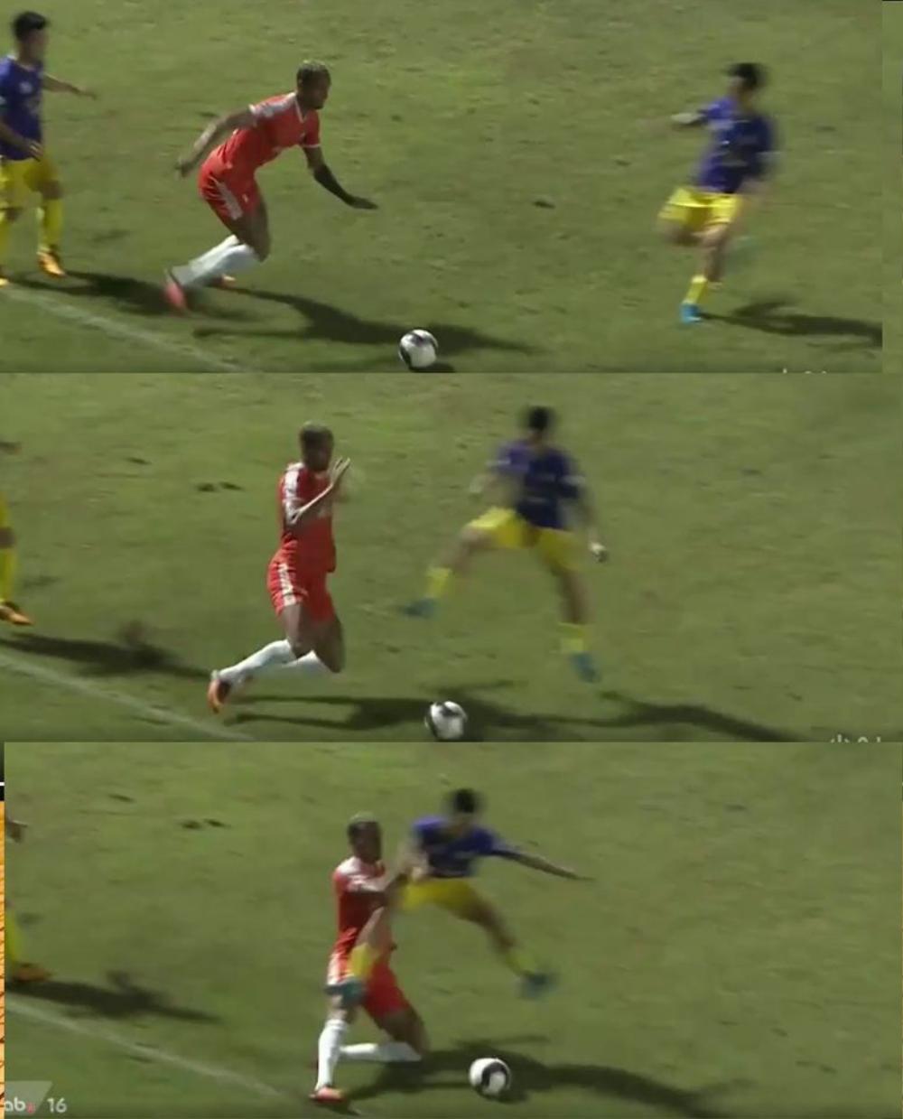 Liên tục chơi xấu, cầu thủ Hà Nội FC có xấu hổ trước nỗi đau của Hùng Dũng? Ảnh 3