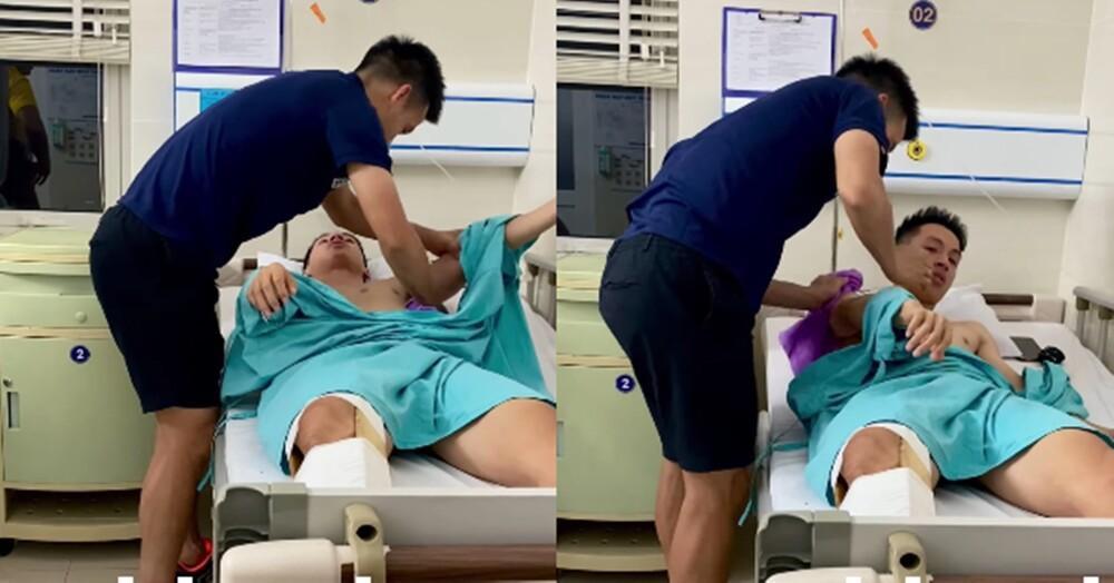 Liên tục chơi xấu, cầu thủ Hà Nội FC có xấu hổ trước nỗi đau của Hùng Dũng? Ảnh 1